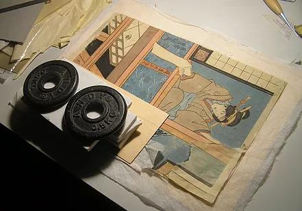 restauro stampe giapponesi Firenze